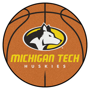 FANMATS Basketball Floor Mat - Michigan Tech