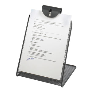 Safco Office Supplies Onyx Mesh Document Copy Holder, Black-BL 5 Pack