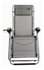 Travel Chair Lounge Lizard - Salt and Pepper