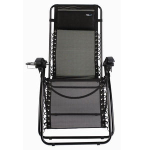 Travel Chair Lounge Lizard Mesh-Black