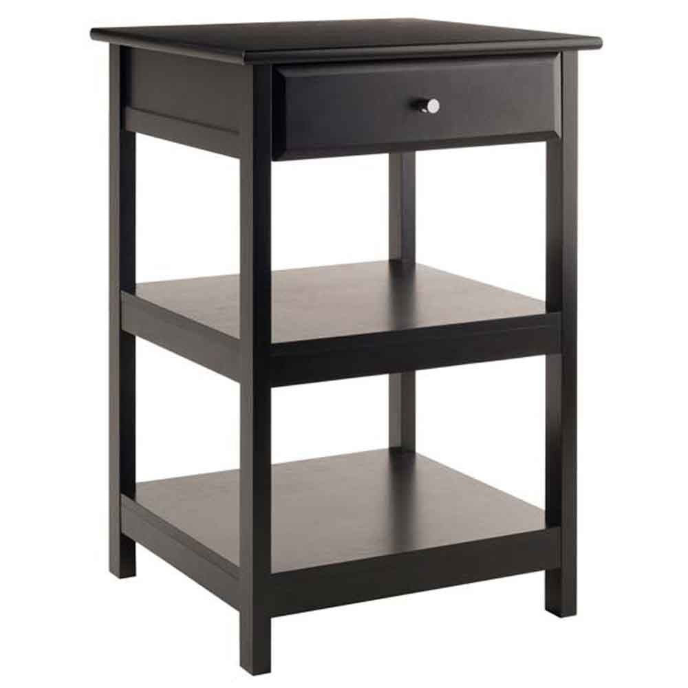 Winsome Delta Printer Stand Black Home Office