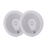 "PolyPlanar 6"" Titanium Series 3-Way Marine Speakers - (Pair)White"