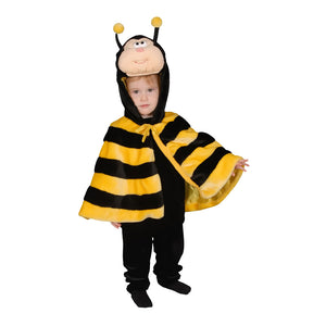 Dress Up America Halloween Little Honey Bee Cape Costume Set - 12-24 Mo.