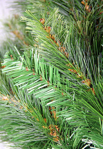 7.5' Jack Pine Slim Artificial Christmas Tree - Unlit