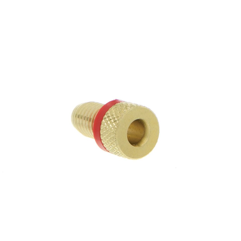 Banana Plug for Speaker Cable, Brass, Black and Red, 2 Piece