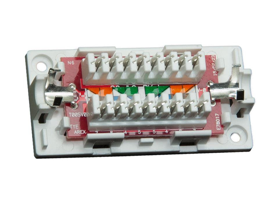 Cat6 Inline Junction Box, 110 Punch Down Type