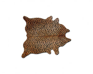 "60""x 84"" Leopard Cowhide - Area Rug"