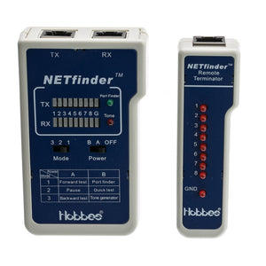 NETfinder 3 Test Sequences, Tone Generator and Portfinder