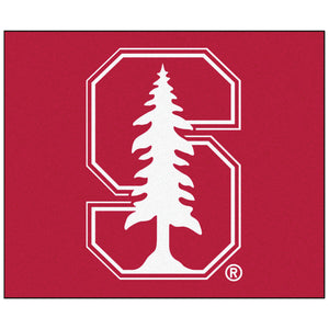 "Fanmats Sports Team Logo Design Stanford Tailgater Rug 60""72"""