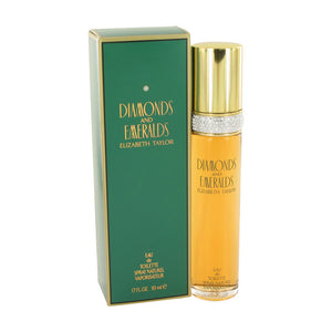 Elizabeth Taylor Diamonds and Emeralds Eau De Toilette Spray For Women 1.7 oz