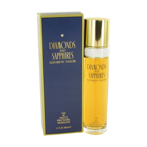 Elizabeth Taylor Diamonds and Saphires Eau De Toilette Spray For Women 3.4 oz