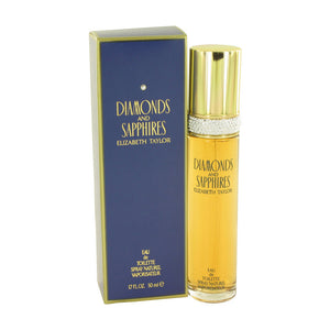Elizabeth Taylor Diamonds and Saphires Eau De Toilette Spray For Women 1.7 oz