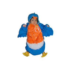 Dress Up America Halloween Party Infant Bluebird - Size 0-12 Month