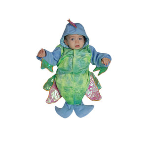 Halloween Party Costume Infant Polyester Iridescent Fish - Size 0-12 Month