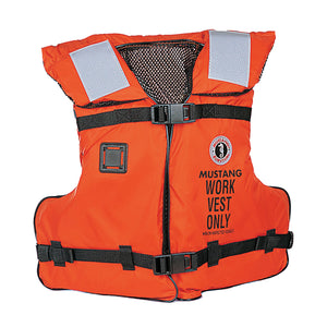 Mustang Work Vest with Solas Tape