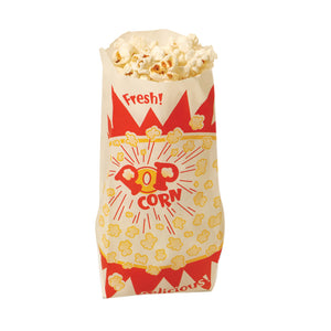 Benchmark USA 1.5 Ounce Paper Popcorn Bags 1000 ct