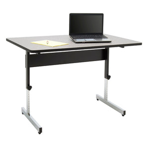 Adapta Table - Black / Spatter Gray