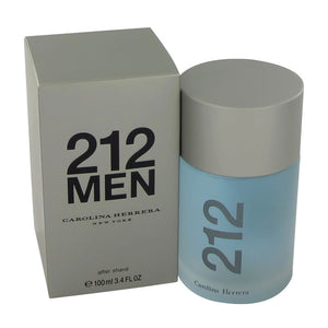 Carolina Herrera Beauty Gift 212 Cologne 3.4 oz After Shave for Men