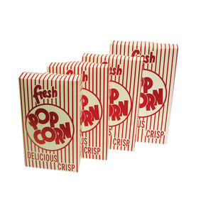 2.5 oz. Popcorn Closed Top Boxes (50 per case)