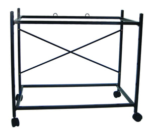 YML Group Home Indoor Pet Decorative 2 Shelf Stand for 2464, 2474 and 2484, Black