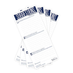 Refill Suggestion Cards (Qty. 60)