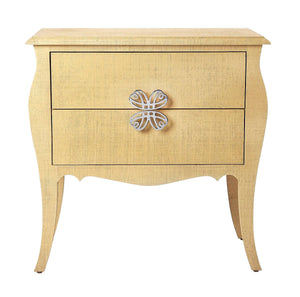 Butler Felicia Natural Raffia Accent Chest