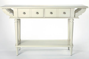 Butler Talia White Console Table