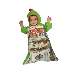 Dress Up America Halloween Party Infant Money Pit - Size 0-12 Month