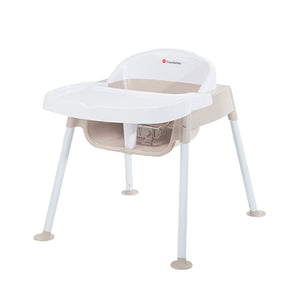 "Secure Sitter Feeding Chair 13"" Seat Height - White/Tan"