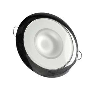 Lumitec 113119 Mirage LED Exterior or Interior Down Light, Flush Mount, Stainless Steel Polished Bezel, Warm White Dimming