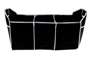 Collapsible Folding Car Trunk Organizer - Black