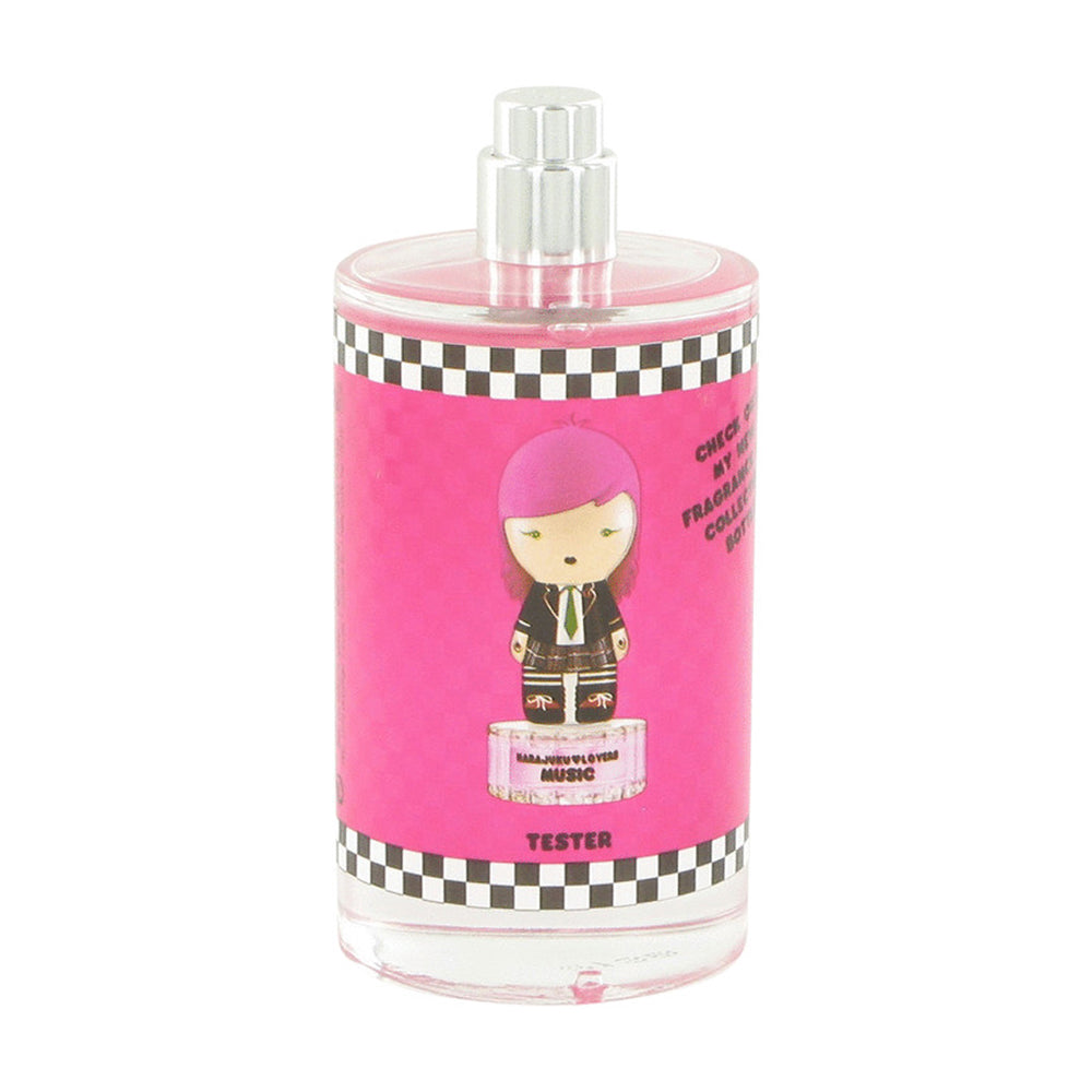 Harajuku Lovers Wicked Style Music 3.4 oz Eau De Toilette Spray (Tester) For Women
