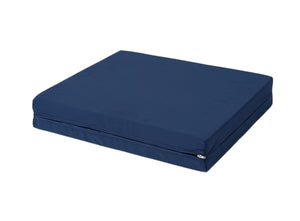 "AlexOrthopedic Durable Polyurethane Foam Wheelchair Cushion 4"" Navy"