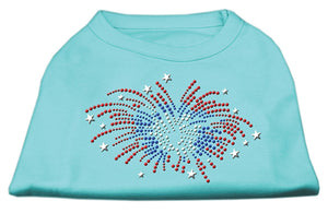 Fireworks Rhinestone Shirt Medium - 12