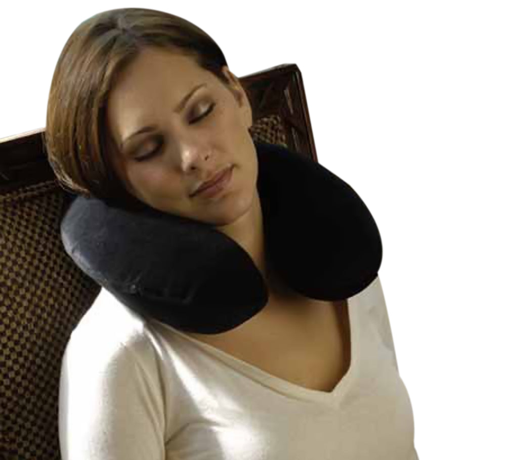 Alex Orthopedic Comfortable Relaxing Memory Foam Travel Pillow