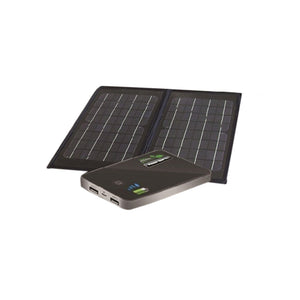 Nature Power 55086 6-Watt Folding Monocrystalline Solar Panel with Power Bank 5.0