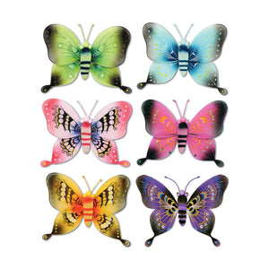 "Beistle Party Decoration Jumbo Majestic Butterflies 21 1/2"" - 12 Pack (1/Pkg)"