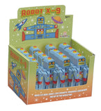 The Original Toy Company Kids Children Play Mini Robots - X-9 (Display of 12)