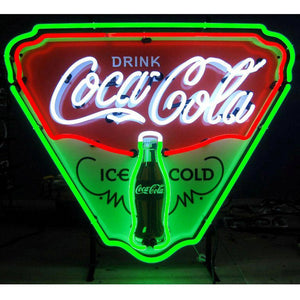 Neonetics 5CCICE Coca-Cola Ice Cold Shield Neon Sign