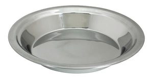Lindy's Stainless Steel 9 inch pie pan, Silver