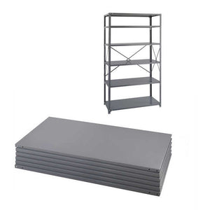 Safco 36 x 24 Industrial 6 Shelf Pack