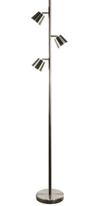 3-Light  LED Floor Lamp