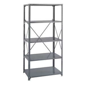 Safco Steel Shelving 36 x 24 Commercial 5 Shelf Kit