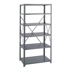 Safco Steel Shelving 36 x 24 Commercial 6 Shelf Kit