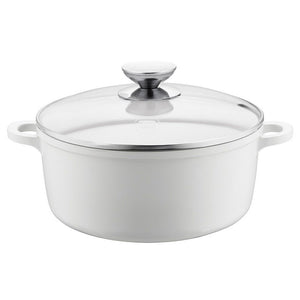 "Berndes Home Kitchen Vario Click Pearl Induction Dutch Oven 6.75""/1.25 qt. w/lid"