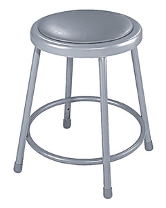 "National Public Seating  Stools 24"" Grey"
