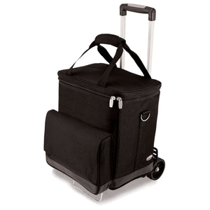 Cellar Cooler Tote With Trolley - Black