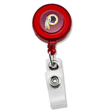 Washington Redskins Sports Team Logo Retractable Badge Reel Id Ticket Clip NFL