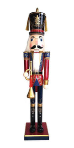 Santa's Workshop 70910 Royal Bugler Nutcracker, 60""