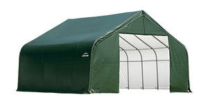Garage 13 x 24 x 10 ft. Peak Standard Green